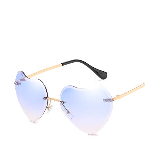 ZJWZ New Love Ocean Film Sonnenbrille Street Beat Peach Heart Sonnenbrille Retro Tide Sonnenbrille,NO2