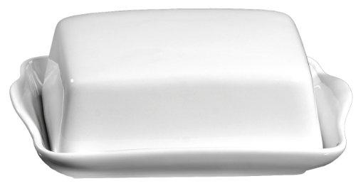 Ritzenhoff & Breker Butterdose Bianco aus Porzellan, Weiß