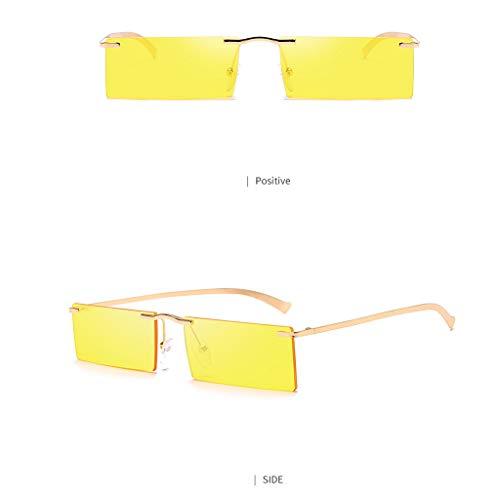 MCYs Retro Sonnenbrillen helle Goldozeangelb Tabletten Frauen Weinlese Augen Sonnenbrille Retro Eyewear Art Strahlenschutz - Runde Set, China Schrank