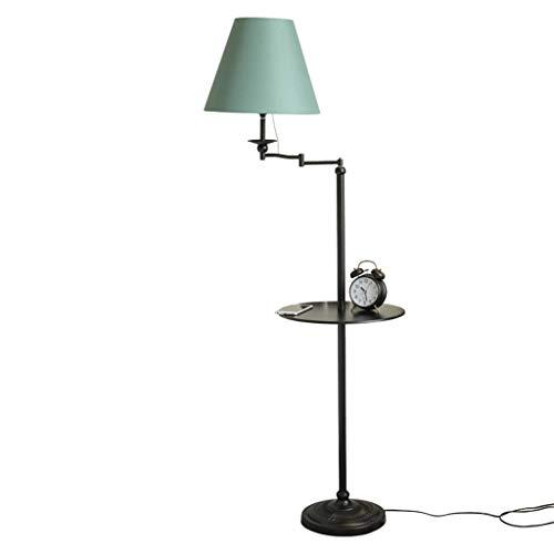 *Stehlampe Stehlampe, Zuhause Wohnzimmer Sofa Nachttisch Modernen Minimalistischen Tablett Kreative Retro Couchtisch Europäischen Stil Wohnzimmer Lampe Stehlampe gewölbt