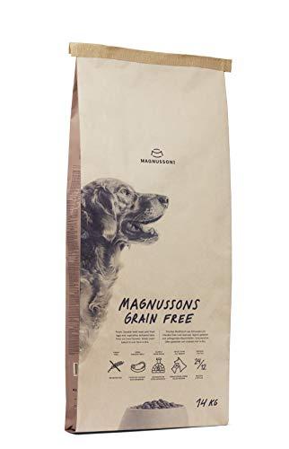MAGNUSSONS Grain Free Getreidefreies Futter für Erwachsene Hunde mit normaler oder gesteigerter Aktivität