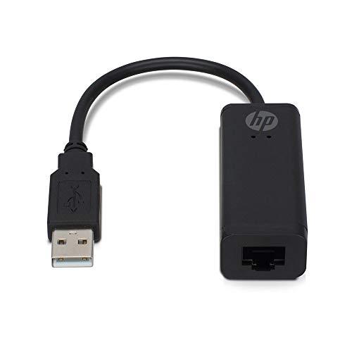 HP 2UX21AA#ABB Netzwerk Adapter - USB A auf RJ45 Buchse - Verbinden Sie Ihr Ultrabook mit einem Kabelgebundenen Lokalen Netzwerk (Hp Tablet Usb-port)