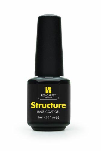 Red Carpet Manicure Structure Base Coat Gel, 1er Pack (1 x 9 ml) (Red Carpet-led)