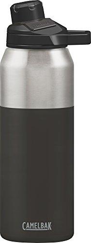 Camelbak Trinkflasche CHUTE Mag Vakuum Edelstahl isoliertechnologie Wasser Flasche, schwarz (Jet), 32oz -