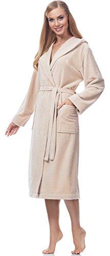 L&L Accappatoio Fibre di Bamb? per Donna Women2 Angora