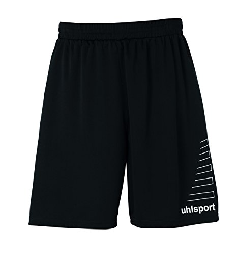 uhlsport Herren Match Team Kit (Shirt&Shorts) Ss weiß-schwarz