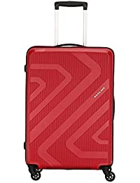 Kamiliant by American Tourister Kam Kiza Polypropylene 79 cms RUBY RED Hardsided Check-in Luggage (KAM KIZA SP 79CM - RUBY RED)