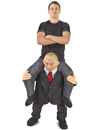 Morph MCPBCO Mach es selbst Füllung Halloween Karneval Huckepack Kostüm, Putin, Einheitsgröße (Halloween Für Kostüm Es)