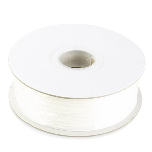 SainSmart Filament Pla Imprimante 3D Printer Supplies Filament 1,75 mm 1 kg * Blanc * pour druker 3D RepRap, MakerBot Replicator 2, Afinia, SOLI Doodle 2, Printrbot LC, M2 and Up. (Afinia MakerGear H de Series)