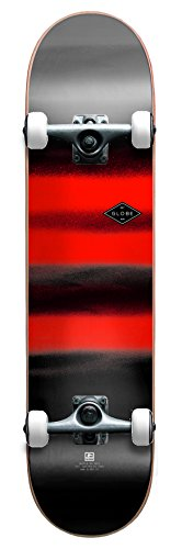 Globe G1 Full On Skateboard, Unisex Adulto, (Charcoal/chromantic), 8.0""