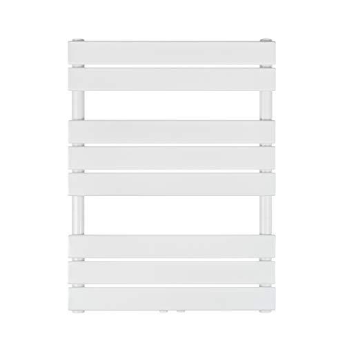 VILSTEIN Bad-Heizkörper, Horizontal, Weiß, Seitenanschluss und Mittelanschluss, 800x600 mm