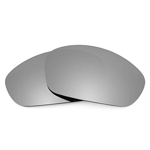 Revant Ersatzlinsen für Oakley Straight Jacket (2007) Titanium MirrorShield®