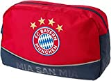 FC Bayern Kulturbeutel MIA SAN MIA rot, Geschenk, FCB