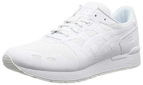 ASICS Herren Gel-Lyte NS Laufschuhe, Weiß White 0101, 44.5 EU (Asics Herren Weiß)