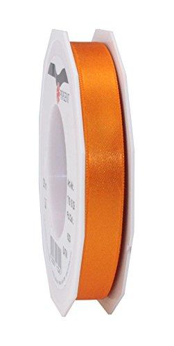 Prasent 15 mm 25 m Rolle Schleifenband, Satin, Doppelseitig, Orange -