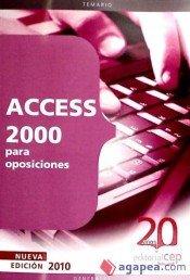 Access 2000  para Oposiciones (Colección 57)