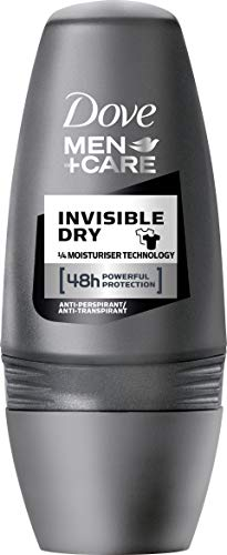 Dove Men+Care Invisible Dry Deo Roll-On, 3er Pack (3 x 50 ml) -