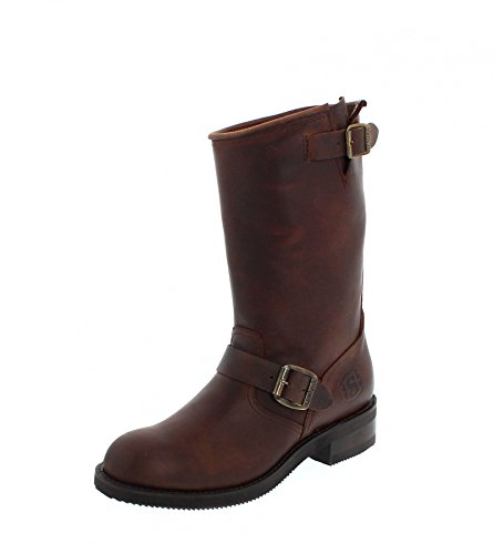 Sendra Boots  2944, Boots biker mixte adulte Marron - Sprinter 7004