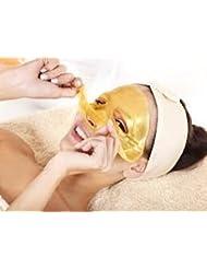 MY LITTLE BEAUTY 3x Masque facial hydratant anti-rides avec du bio-collagène et de la poudre d'or luxueux 24 k