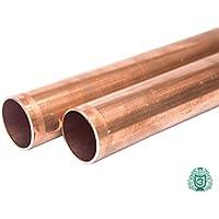 Cobre Tubo Redondo Barra–Varilla CU 1518222835mm RAL Agua Aceite Gas < 0.33Metros, Ñ11000