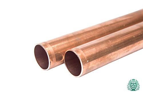 Kupfer rohr rund Stange - Stab Cu 15 x 1mm Wand = 13mm innen Ral Wasser Öl Gas 3St x 0.33m = 33cm = 330mm