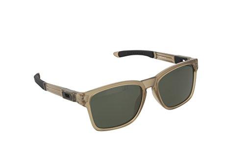 Oakley Herren Sonnenbrille Catalyst Schwarz (Matte Sepia/Darkgrey), 56