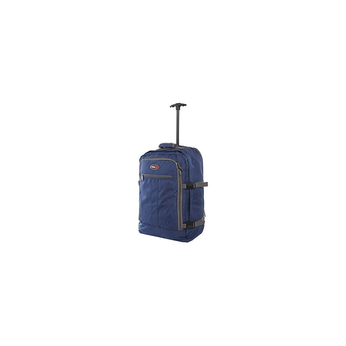 31gNQgFKjtL. SS1200  - CABIN GO cod. MAX 5520 trolley - Mochila para equipaje de mano/cabina de viaje liviana. - 55 x 40 x 20 cm, 44 litros - con ruedas. Aprobado vuelo IATA/EasyJet / Ryanair