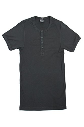 Schiesser Halbarm Shirt 103762 Schwarz