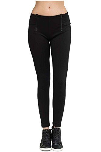 trueprodigy Casual Damen Marken Leggings mit Stretch, Leggins cool und stylisch sexy (sportlich & Skinny), elegante stretch Hose für Frauen...