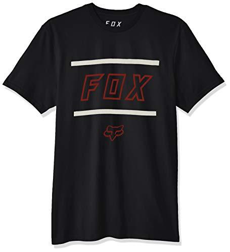 Fox Airline (Fox Herren Midway Short Sleeve Airline Premium T-Shirt, schwarz, Mittel)