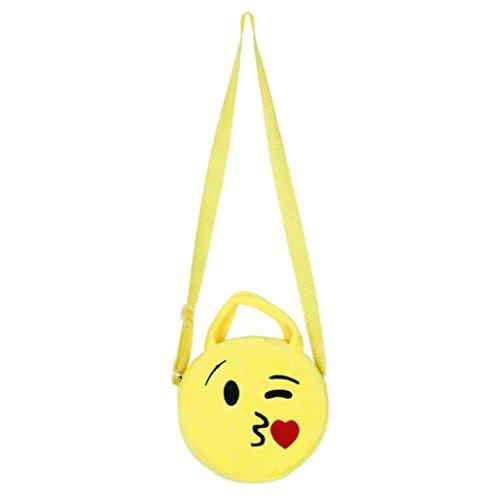 Imagen de bolso  para mujer sannysis mujeres emoticon bolso de hombro impresión emoji 06  alternativa