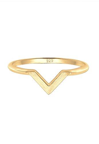 Elli Damen-Ring, 925 Sterling Silber, Größe 54 (17.2) - 0603251318_54