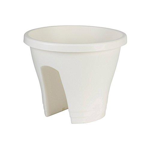 Elho 7432423015000 fioriera plastica 30 cm bianco