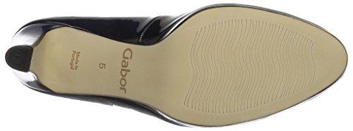 Gabor Shoes Fashion, Scarpe con Tacco Donna Blu (marine LFS natur 76)