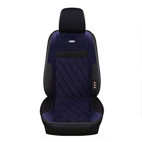 Auto Sitzheizung Sitzkissen Einteiliger Autositzmatte Universalsitz Kissen Auto Sitzkissen Pad Winterwärmer Für Auto-SUV,Blue