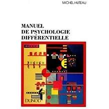 Manuel de psychologie différentielle
