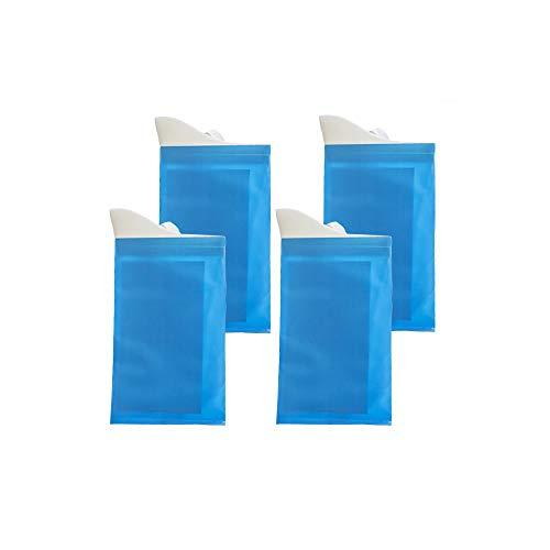 malacoso tragbar Urinbeutel Notfall Einweg Urinbeutel Erbrechen Tasche für Outdoor in die Auto Patienten und Schwangere Frau Unise (Blau-4) - Patient Taschen