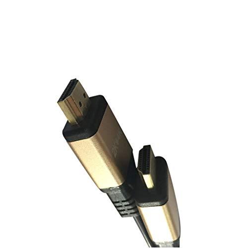 Yowablo Verlängerungskabel Premium Ultra High Speed HDMI Cable V2.0 HDTV LED LCD PS4 4K 3D 2160P X2K (3m)