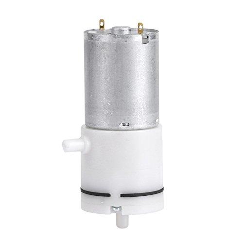 Zerodis DC 12V Mini Vakuumpumpe Aluminium elektrische Luftpumpe Booster für medizinische Behandlung Instrument