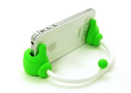 Monkey Cases® Smartphone Support/Support-Mains pour iPhone, Samsung, HTC et de Co.-Original-Vert