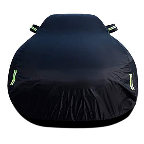 Autoabdeckung Kompatibel mit Mercedes-Benz Maybach S 560 4MATIC / Autoabdeckung/Motorhaube/Autoschutz/Abdeckhaube/Abdeckung Sonnenschutz/Staubdicht (Color : Black, Size : Single Layer) -
