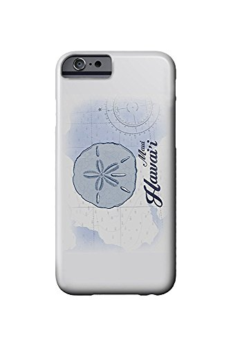 Maui, Hawaii - Sand Dollar - Blue - Coastal Icon (iPhone 6 Cell Phone Case, Slim Barely There)