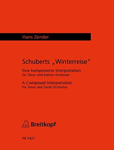 Schuberts Winterreise Orchestre par Hans Zender