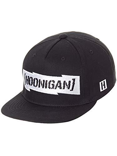 Hoonigan Schwarz Gymkhana Ten Censor Bar Snapback Cap (One Size, Schwarz)