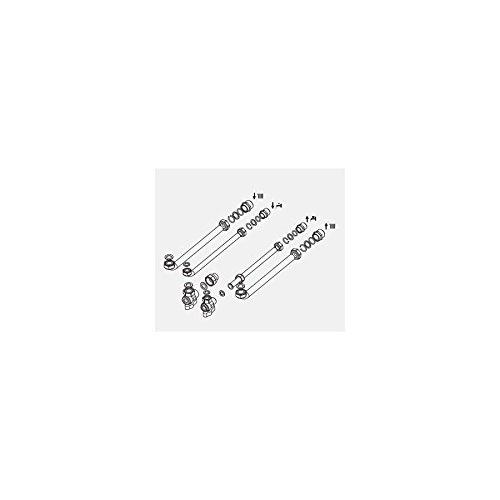 Ariston Thermo 3318224 Kit Prima Installazione 2 rubinetti, Bianco