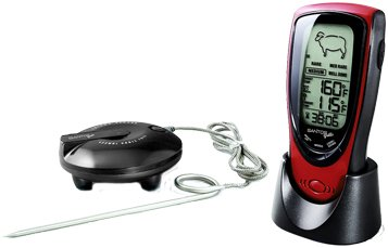 Santos Audio Digital BBQ Thermometer Wireless BBQ Grill Thermometer Winner the Griller 1/2015