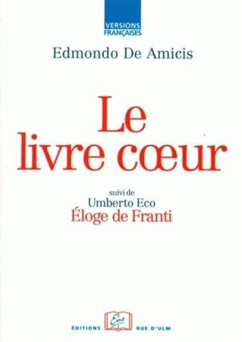 Le livre Coeur par Edmondo De Amicis