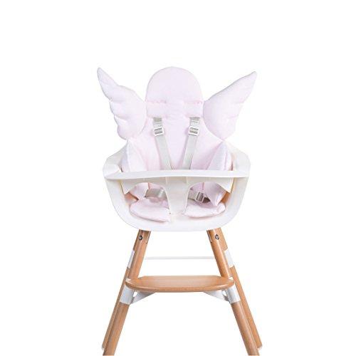 Childhome- Engel Sitzkissen Für Baby Hochstuhl Aus 100% Baumwolle, 60 x 63 x 5 cm, Rosa