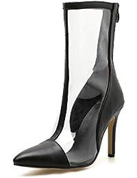 Y es Plastico Tacones Complementos De Zapatos Amazon qdXpX