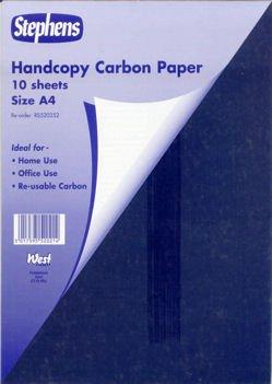 Stephens - Handcopy-Kohlepapier - blau - A4 - 10Blatt